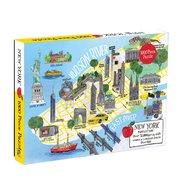 New York City Map 1000 Piece Puzzle