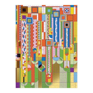 Frank Lloyd Wright Saguaro Cactus And Forms Foil Stamped 1000 Pc Puzzle