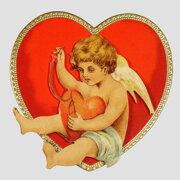 Edwardian Love Heart Cards, notecard