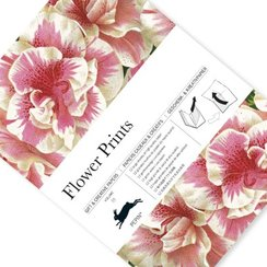Flower Prints, Gift & Creative Paper Book