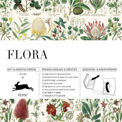 Flora, Gift&Creative Paper Book