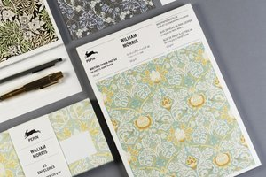 William Morris, A4 Writing Paper&Notepad