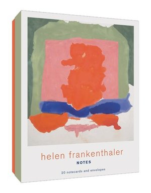 Helen Frankenthaler Notes 20 Notecards and Envelopes