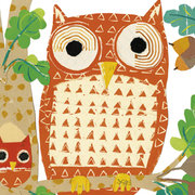 Oaktree Owls, Postcard