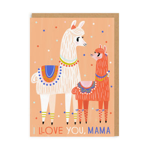 I Love You Mama, Greeting Card