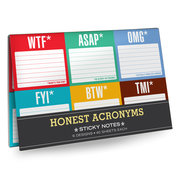 Honest Acronyms Sticky Note Packet