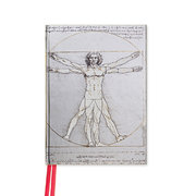 Da Vinci: Vitruvian Man (Foiled Pocket Journal)
