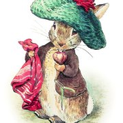 Mouse in hat, Minicard