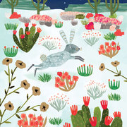 Wild Rabbit in Cactusland, Cards-Xmas singles