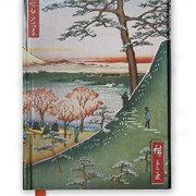 Hiroshige: Meguro (Foiled Journal)