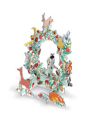 Frosty Forest Wreath, Pop & Slots-Xmas
