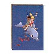 Dolphin Adventure Greetings Card
