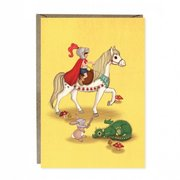 Knights & Dragons Greetings Card
