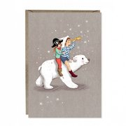 Polar Adventure Greetings Card