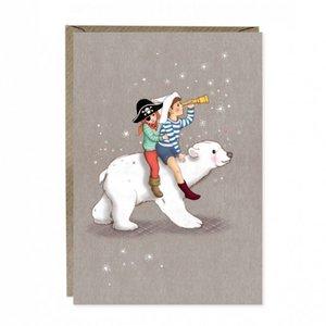 Polar Adventure Greetings Card