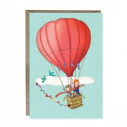 Balloon Adventure Greetings Card
