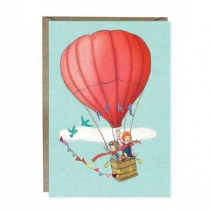 Balloon Adventure Greetings Card