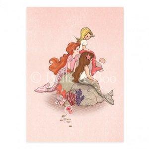 Mermaid Rock Postcard