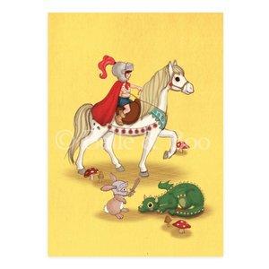 Knights & Dragons Postcard