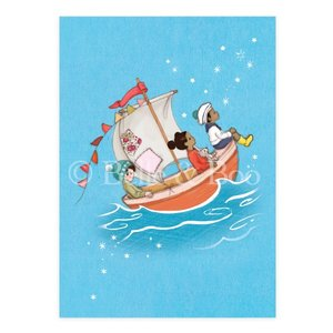 Sail Boat Dreams Postcard