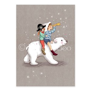Polar Adventure Postcard