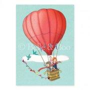 Balloon Adventure Postcard
