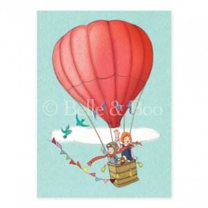 Balloon Adventure Postcard