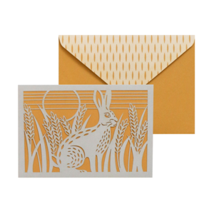 Folklore Hare, Boxed Notecards