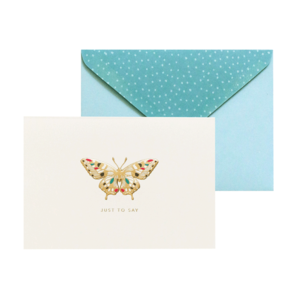 Jewelled Butterfly, Boxed Notecards