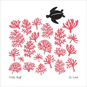 Turtle Reef, Lu West, Greeting Card