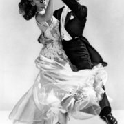 Fred Astaire and Rita Hayworth in You Were Never Lovlier, 1942 Greeting Card