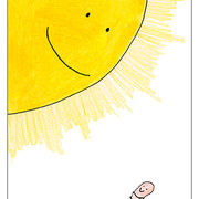 Worm in Sunshine, Postcard