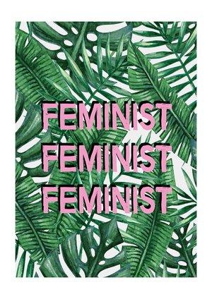 Feminist, Greeting Card