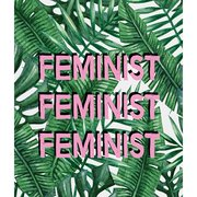 Feminist, Greeting Card