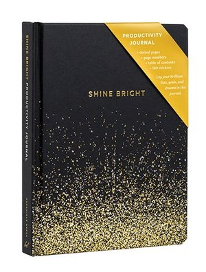 Shine Bright Productivity Journal, Dotted Pages