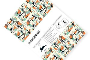 Modernism, Gift & Creative Paper Book