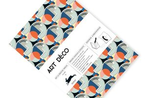 Art Deco, Gift & Creative Paper Book