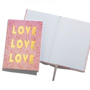 Love Love Love Notebook A5