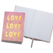 Love Love Love Notebook A5