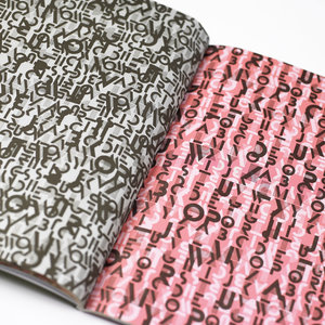 Alphabets, Gift & Creative Paper Book