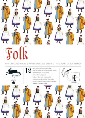 Folk, Gift & Creative Paper Book