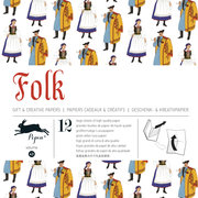 Folk, Gift & Creative Paper Book