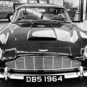Aston Martin DB5 Sports Car,1960s, Greeting Card