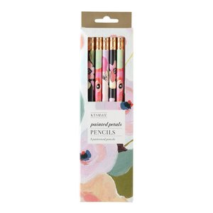 Painted Petals Pencil Set