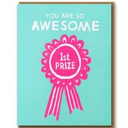 1st Prize, Greeting Card