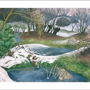 Frozen Ponds, Greeting Card