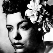 "Billy Holiday ""Lady Day"", Greeting Card"