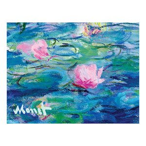 Monet Waterlillies, Note card portfolio