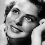 Ingrid Bergman/Portrait 1, Greeting Card