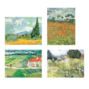 Van Gogh Countryside, Note card portfolio
